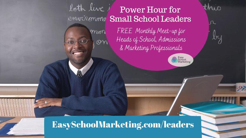 Easy School Marketing Offer
